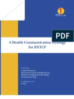 Health Communication Strategy for RNTCP