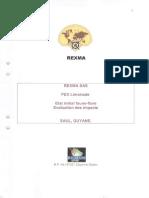 REXMA Annexe Inventaire Faune Flore