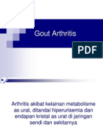 Gout Arthritis Baru
