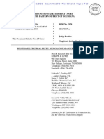 2013-9-11 BPs Phase II PreTrial Reply Memo for Source Control Doc 11349