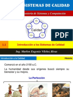 1.1. Introducción a los Sistemas de Calidad