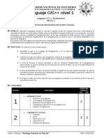 Syllabus Lenguaje C%2cC++ Nivel 1