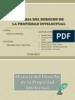 Historia Del Derecho de La Propiedad Intelectual