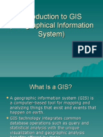 2. Introduction to GIS (Geographical Information System)