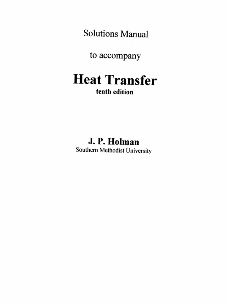 Heat transfer j p holman 10th ed solution manual ch01 heat transfer j p holman 10th ed solution manual ch01 branches of thermodynamics atmospheric thermodynamics fandeluxe Choice Image