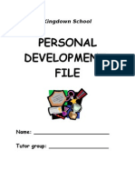 Personal Development Profile