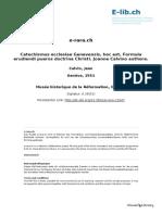 Catechismus ecclesiae Genevensis hoc est Formula erudiendi pueros doctrina Chris.pdf