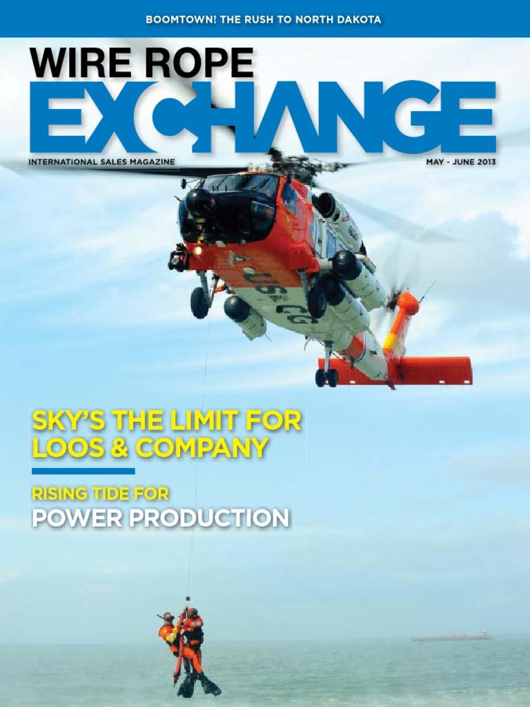 June 2013 Wire Rope Exchange | Crane (Machine) | Boeing
