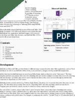 Microsoft InfoPath - Wikipedia, The Free Encyclopedia