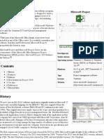 Microsoft Project - Wikipedia, The Free Encyclopedia