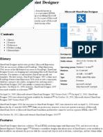 Microsoft SharePoint Designer - Wikipedia, The Free Encyclopedia