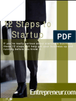 12 Steps to Start
