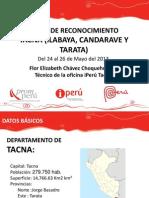 Viaje de Reconocimiento Ilabaya, Tarata y Candarave.ppt