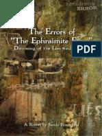 The Errors of 'The Ephraimite Error'.pdf