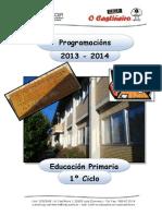 CEIP O CASTIÑEIRO - PROGRAMACIÓN 1º CICLO - 2013-14