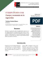 Icono14. Nº 12. CUERPO PUNTO COM Cuerpo y economía en la ingravidez