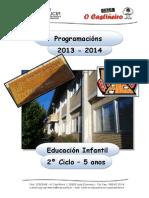 CEIP O CASTIÑEIRO - PROGRAMACIÓN  E. INFANTIL -  05 anos - 2013-14