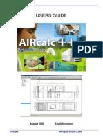 Aircalc User Guide En