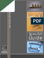ABM 2500 Series Guide