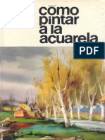 11 Como Pintar a La Acuarela - Parramon