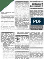 Boletim Informativo nº 001 - Maio de 2013