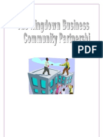 Kingdown Business Community Partnership Booklet