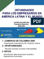 Mercado Exterior Colombia