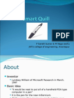 Smart Quill ( By Sarath Kumar )