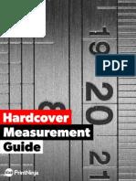 Hardcover Measurement Guide