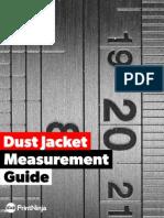Dust Jacket Measurement Guide