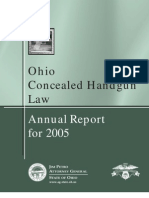 2005 Concealed Carry Annual Report