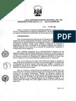 Reglamento de Inscripciones Del Registro de Personas Juridicas