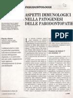 6 Aspetti Immunologici Nella Patogenesi Delle Parodontopatie