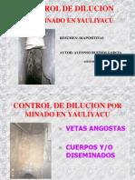 Control de Dilucion