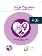APCA_Palliative Care for Women Living With HIV and Cervical Cancer (2013)