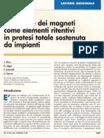32 L'impiego dei magneti come elementi ritentivi in protesi totale s0stenuta da impianti.pdf