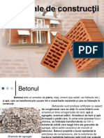 Materiale de construcţii