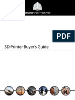 3D Printer Buyers Guide 2013