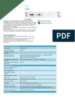 spec CFM-M4-MUX IDU