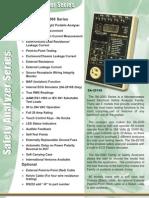 electrical safety analyzers