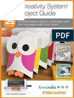 Fuse Creativity System Project Guide Fun Party Themes Idea for Handmade Cards and More Paper Crafts From Fiskars eBook