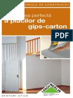 Montare Placi Gips Carton File 8