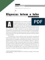 Cattani - Riqueza - Totem e Tabu