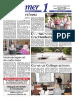 Wijkkrant Nummer 1 September 2013
