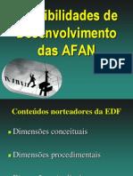 Aula 2b Possibilidades de Desenvolvimento Das AFAN