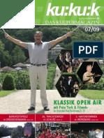 kukuk-Magazin, Ausgabe 07/2009