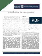 JEC the Economic Costs of Debt-Ceiling Brinksmanship