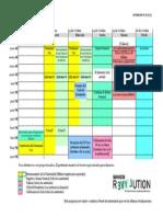Cronograma del Evento