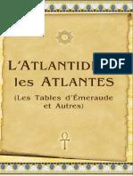 L'Atlantide et les Atlantes (Les Tables d'Émeraude et Autres)