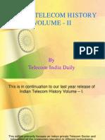 Indian Telecom History Volume-II